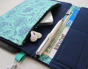Tablet Keeper in Hint of Mint for iPad, iPad Mini, iPad Air, Nexus 7, Kindle Fire, Nook and more