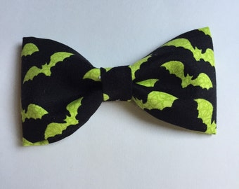 Boys bat bow tie, halloween bow tie, boys bat costume, boys bat tie, boys halloween costume