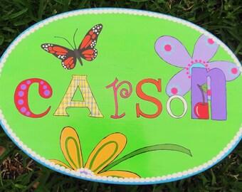 Personalized Custom Little Girls' Cricket Stool Stool for Girls Nursery Decor Stool for Girls Child's Stool