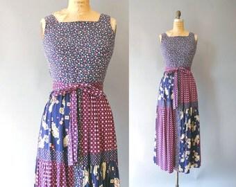 1970s Maxi Dress / Non Stop Dress / 70s