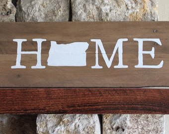Texas home sign reclaimed wood sign tx sign texas artwork for Reclaimed wood oregon