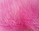Bubble GUM Pink Faux Fur