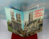 Cathedrals and Abbeys of England Vintage 1975 Softcover Color Photo Guidebook
