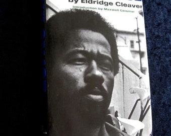 Soul On Ice Eldridge Cleaver Hardcover 1969 Early Edition Ramparts SIXTIES Black Panther Exc. Condition