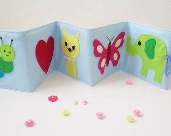 Stroller toy , felt book , baby soft felt book , baby learning book
