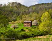West Virginia Photograph of Old Cabin in the Mountains Photograph