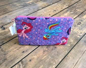 Pencil Case/Cosmetic Bag/ Gadget Case -  My Little Pony - Ready to Ship