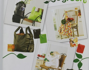 Simplicity 2806 Eco Chic Market Grocery Shopping Bag Purse Tote Bag Crafts Uncut Sew Sewing Pattern
