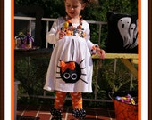 Personalized Itsy Bitsy Fuzzy Spider Halloween Name Dress ... Infant Toddler Youth Girl