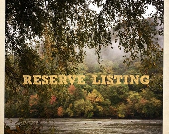 reserved listing for Alex