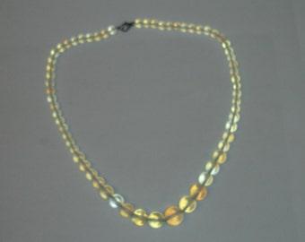 "Full Strand Genuine Round Smooth Graduated 6mm-13mm Opalene Gemstone Beads  63 Pcs- 17-1/2"""
