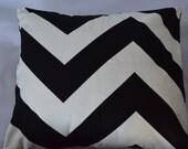 Black and White Premier Pints Zippy pillow covers
