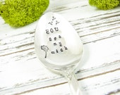 You Are My Wish. Hand Stamped Vintage Coffee or Tea Spoon. Great Anniversary or Birthday Gift for Him or Her. 453SP