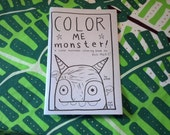 Color Me Monster  coloring book for all ages