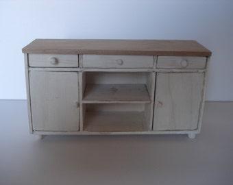 Miniature shabby cabinet
