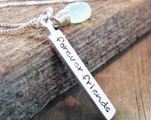 forever friends sterling silver necklace friendship necklace