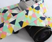 Camera Strap - Gelato - Gifts for Women - dSLR Camera Strap - Valentine's Day Gift - Gift for Photographer - Gift for Girlfriend