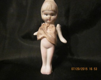 SALE! Poreclain Doll with moveable arms