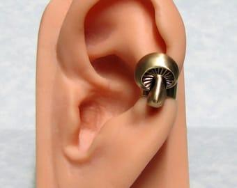 Mushroom Forest Ear Cuff