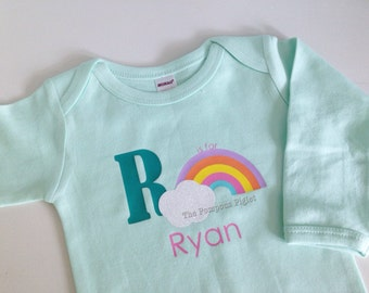 R is for... Personalized Name Onesie