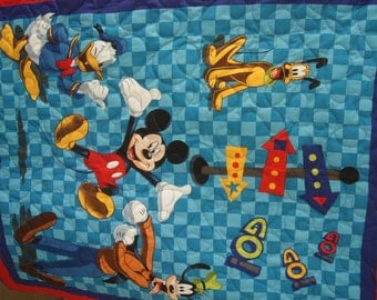 Mickey and Friends Quilt
