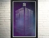Doctor Who Art Tardis Poster
