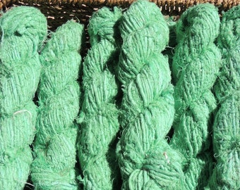 Recycled Linen Yarn - Mint