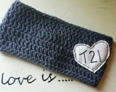 T21 (Down Syndrome) awareness ear warmer