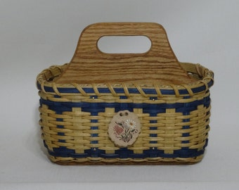 Organizer Caddy / Divided Basket /Silverware Basket
