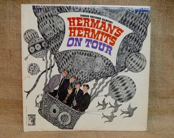 """Herman""""s Hermits - Herman's Hermits on Tour - 1965 Vintage Vinyl Record Album"""