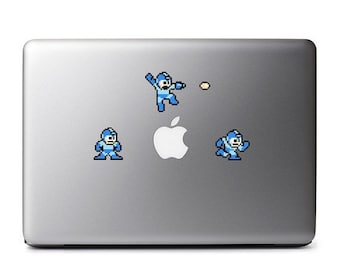 Mega Man (Multi-pack) Retro 8-Bit Vinyl Decal