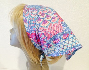 Lilly Pulitzer fabric scarf Pincher's Picnic