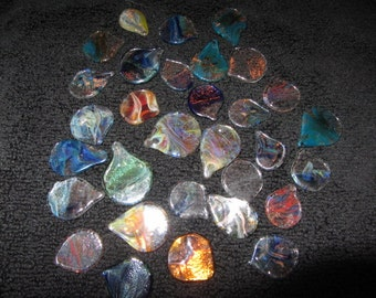 Glass Guitar Pick; made for guitarists by a guitarist!  Unique tone!