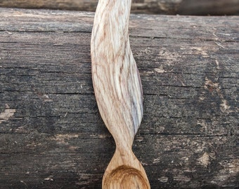 Wooden spoon feather
