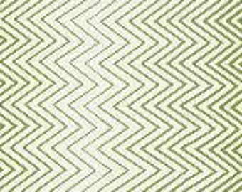 "End of Bolt 20"" of Simply Style Green Zig Zag Ombre by V and Co for Moda"