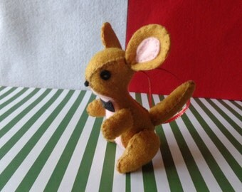 Mr. Kangaroo Christmas Ornament by Pepperland