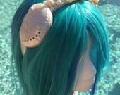 Custom Mermaid Sea Shell Crown