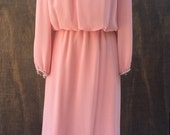 Miss Elliette Full Length Pink Evening Gown
