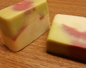 APPLE-Handmade Goat Milk Soap-bath/shower bar by Happy Goat