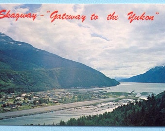 Skagway Alaska Photo Postcard Uncirculated  Excellent