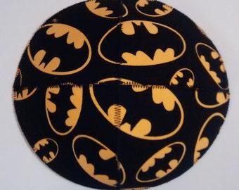 Batman Emblem Saucer Kippah Yarmulke Superhero