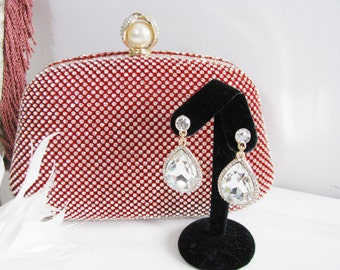 Wedding Bag Clutch Formal Evening Bag Holiday Red Evening Bag Perfect for This Holiday Season