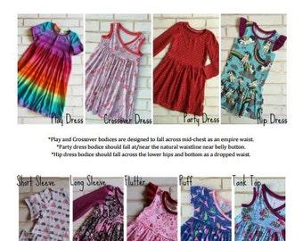 Hazelbee Baby Dress Pattern Bundle