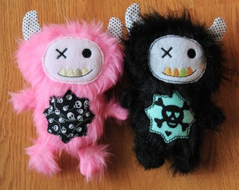 Furry Monster Babies - Skulls OR Create Your Own