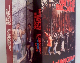 New Kids on the Block VHS Videos, Set of 2