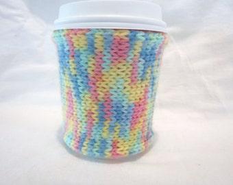 Multicoloured Coffee Cozy