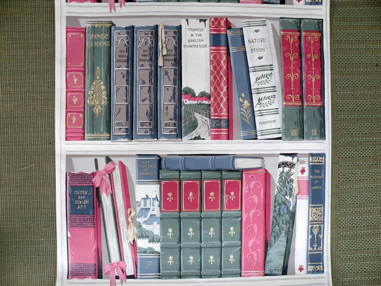 1 rotolo carta da parati parete murales libri personalizzati for Rotolo carta parati