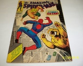 The Amazing Spider-Man Featuring The Power Of Ka-Zar Vol. 1, No. 57 Feb. 1968 Comic Book