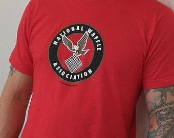 National Waffle Association Screen-printed T-Shirt