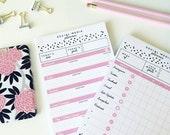 Social Media Planner Notepad